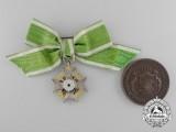 A First War Period Saxon Medal Pairing