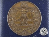 A Royal Air Force (RAF) Rifle Association Award Medal 1934 with Case