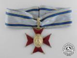 An Estonian Golden Fire Service Cross; First Class c.1935