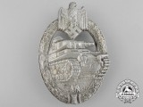 A Silver Grade Tank Badge by Adolf Scholze