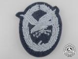 A Luftwaffe Radio Operator & Air Gunner Cloth Badge