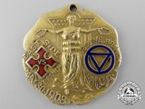 A 1908 YMCA East Side vs. 2nd Avenue Branches Sport Medal