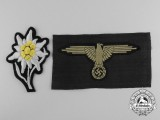 Two German SS Insignia