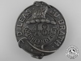 A First War 48th Highlanders Officier's Cap Badge CEF
