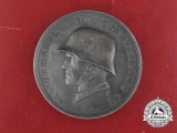 A 14th Panzer Division Medal with Case