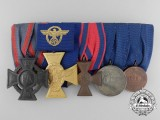 An Oldenburg Cross First War Medal Bar