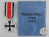 A Mint Iron Cross Second Class 1939 by Rudolf Wächtler & Lange