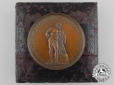 A 1913 German Gymnastic Society in London Third Prize Award Medal with Case