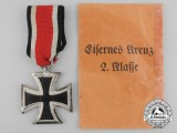An Iron Cross Second Class 1939 with Packet of Issue