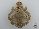 An Edward VII Era Royal Canadian Artillery Cap Badge