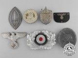 Seven Second War German Badges and Insignia