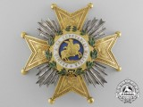 A Spanish Order of St. Hermengildo; General's Rank Breast Star c.1835