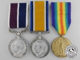 A First War Meritorious Service Medal to the  21 Sqdn; Royal Flying Corps