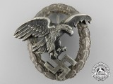 An Early Luftwaffe Observers Badge by Assmann