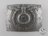A Waffen SS EM/NCO's Steel Belt Buckle by RODO