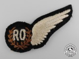 A Second War RCAF/RAF Radio Operator's Wing