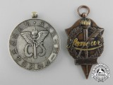 Two Japanese Medals and Awards