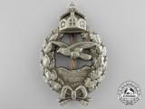 A First War Prussian Pilot's Commemorative Badge