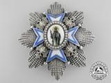 A Serbian Order of St. Sava; Grand Cross Breast Star  (1915-1941)
