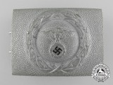 A 1st Pattern Air Raid Protection League Enlisted Man's Belt Buckle by Paulmann & Crone