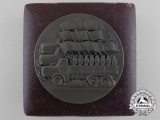 A 1938 April Election German Propagation Medal with Case