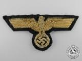 A German Army (Heer) General's Visor Cap Eagle