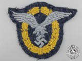A Luftwaffe Pilot & Observer Badge; Cloth Version