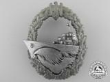 A Kriegsmarine Naval Destroyer War Badge