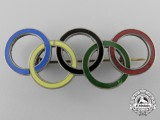 A 1936 Berlin German Olympic Games Rings Pin