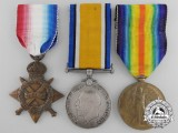 A First War Medal Group to the 4th Canadian Infantry