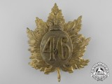 A Canadian Boer War 46th Regiment Glengarry Badge