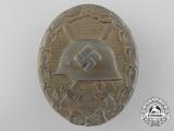 A Gold Grade Wound Badge by Klein & Quenzer