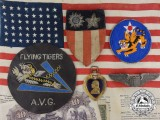 A Second War American Flying Tigers Purple Heart Grouping