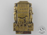 A 1933 1000-Year Anniversary Badge for the town of Breitungen (Werra)
