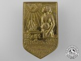 An Early 1930's National Socialist People's Welfare Badge
