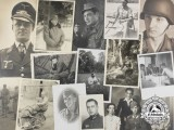 Nineteen Luftwaffe and Army (Heer) Photographs