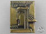 A 1933 Hildesheim Sport-Month Badge