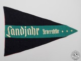 "A HJ & League of German Girls ""Landjahr Neversfelde"" Pennant"