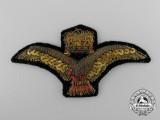 A Second War Hungarian Air Force Officer's Cap Badge