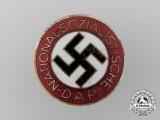 An NSDAP Membership Badge by Werner Redo