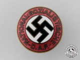 An NSDAP Membership Badge by Boerger & Co, Berlin