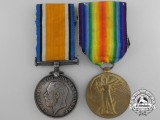 A First War Medal Pair to the 58th Infantry Battalion