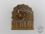 A 1938 International Radio Exhibition Badge in Berlin Badge