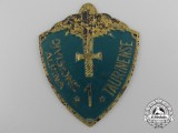 "A Second War Italian 1st Division Alpine ""Taurinense"" Badge"