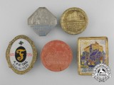 A Lot of Five German Second War Badges
