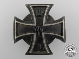 An Iron Cross First Class 1914; 800 Silver & Screw Back