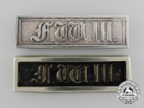 Two Prussian Military Long Service Bars