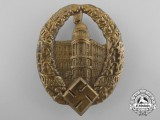 A 1933 Dresden National Socialist Teachers League Day Badge by Mark Brehmer