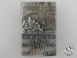 "A 1934 German Labour Front ""Kraft Durch Freude"" Badge"
