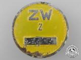 A Rare Messerschmitt Factory ID Badge